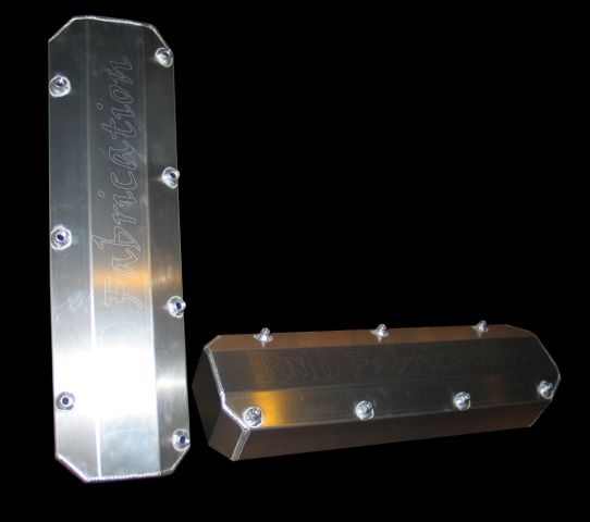 RnD Fabrication Big Block Ford Valve Fabricated Covers