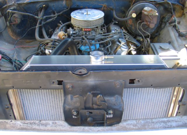 RnD Fabrication Ford F100 / F150 / F250 Downflow Radiator