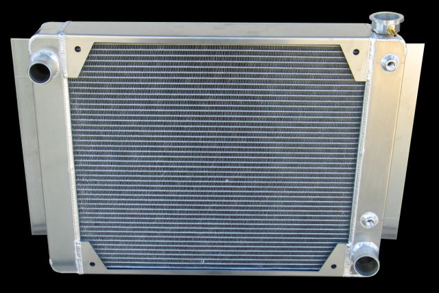 RnD Fabrication Nova V8 Aluminum Crossflow Radiator