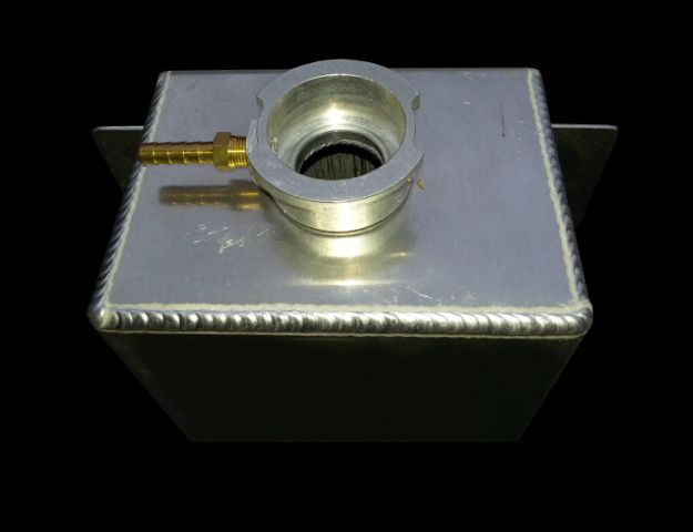 RnD Fabrication Square Overflow Tank