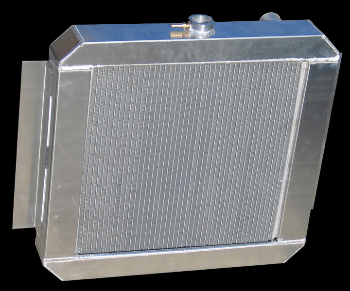 RnD Fabrication Scout 800 Prototype Aluminum Crossflow Radiator