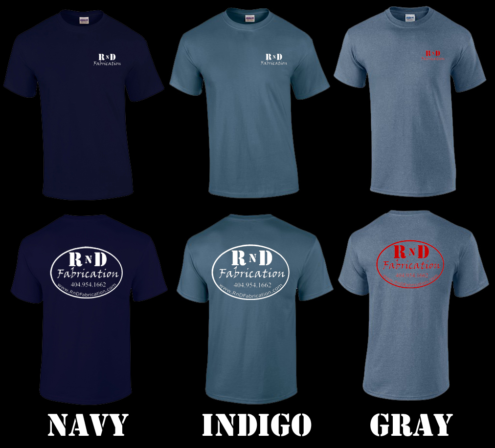 RnD Fabrication T-Shirts